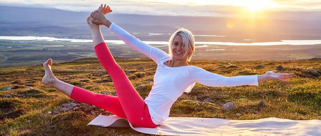 Yogamädel Katharina Wimmer